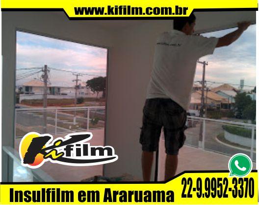 Instalação de Insulfilm em arararuama
