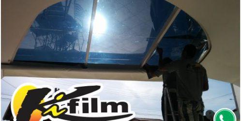 Insulfilm no teto de vidro em Cabo Frio – (22) 9.9952-3370 Condomínio dos Passaros