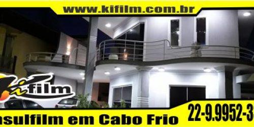 Insulfilm em Araruama -Pontinha  Residência do Arquiteto Fernando Pinho