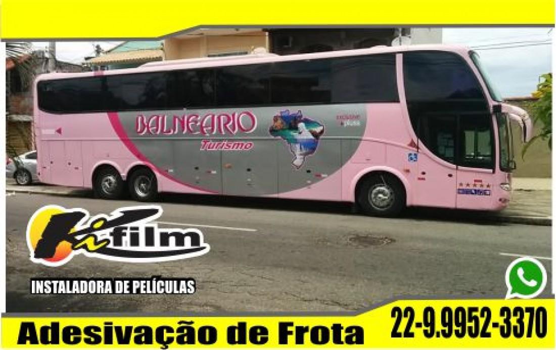 Adesivação de Frotas em Cabo Frio (22) 9.9952-3370 ônibus da balneario turismo