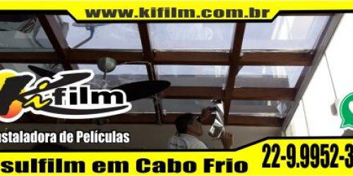 Insulfilm Residencial em Cabo Frio  (22) 9.9952-3370