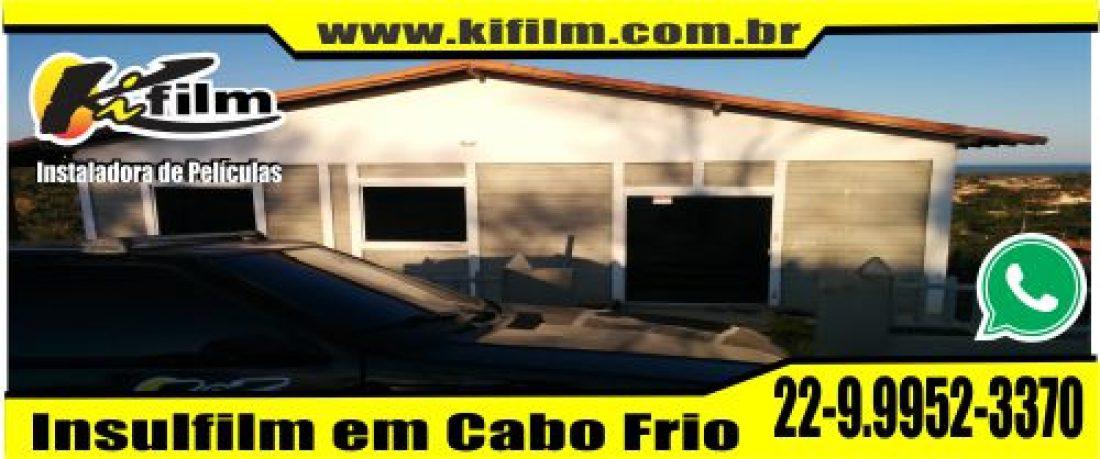 Insulfilm em Bacaxá (22) 9.9952-3379 Cabo Frio e Búzios