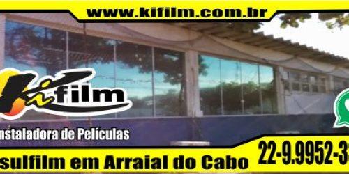 Firma que instala Insulfilm em Arraial do Cabo (22) 9.9952-3370