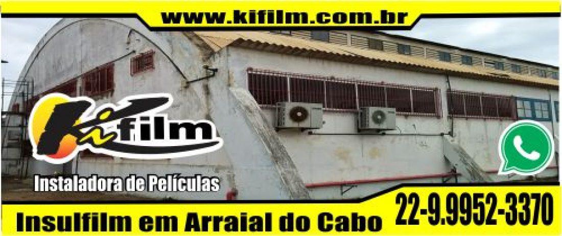 Insulfilm para residencias em Arraial do Cabo (22) 9.9952-3370