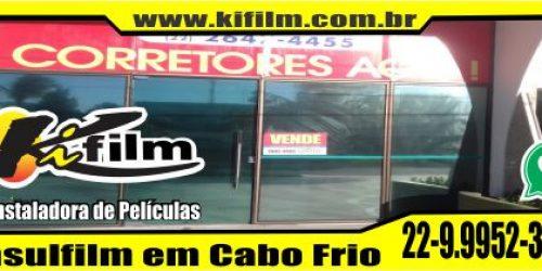 Insulfilm Espelhado em Cabo Frio (22) 9.9952-3370