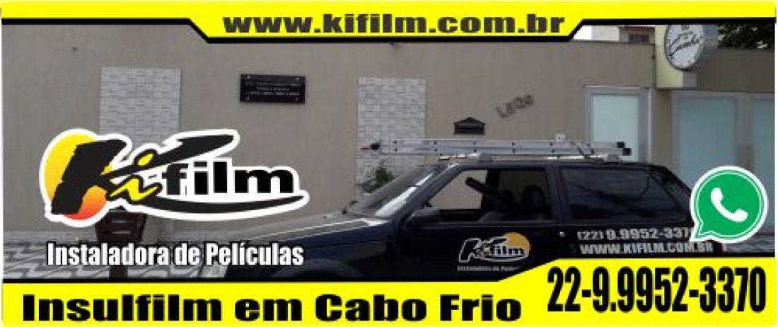 Insulfilm em Cabo Frio (22) 9.9952-3370