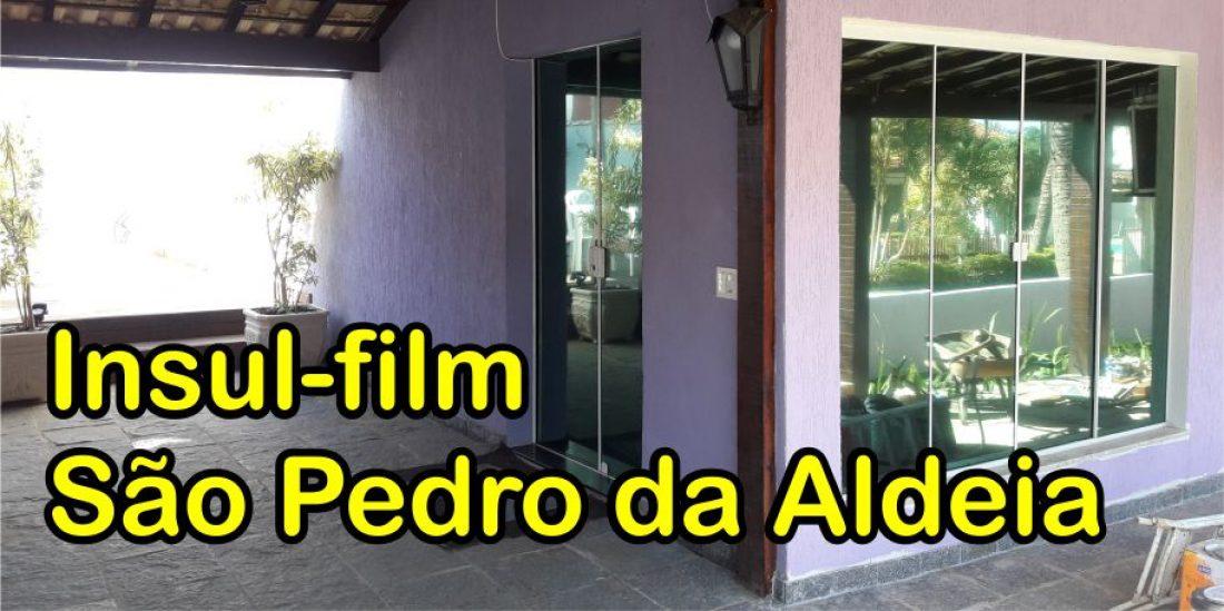 Insulfilm Espelhado São Pedro da Aldeia (22) 9.9952-3370