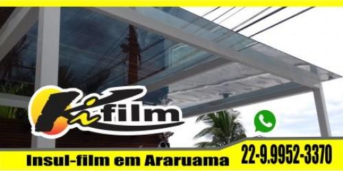 Insulfilm em pergolato em Cabo Frio 22-9.9952-3370  película de proteção solar em teto de vidro em cabo frio e região dos lagos