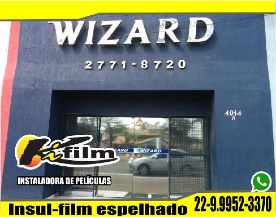 Insulfilm Espelhado em Rio das Ostras (22) 99952-3370  Wallace Porto
