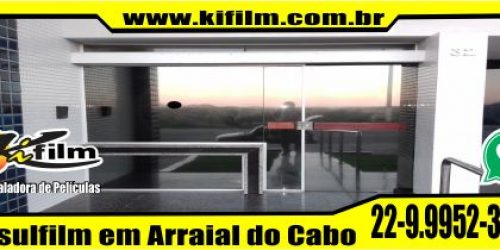 Insulfilm Residencial em Arraial do Cabo (22) 9.9952-3370