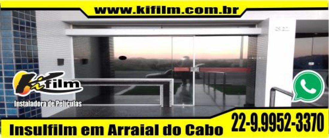 Insulfilm Residencial em Arraial do Cabo (22) 9.9952-3370