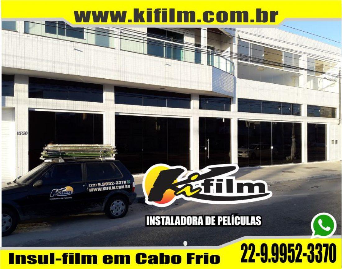 Loja de Insulfilm em Cabo Frio – São Cristovão – Kifilm