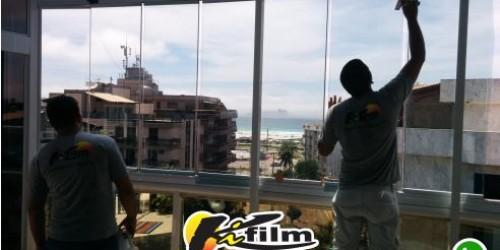 Insulfilm transparente que corta o calor e a radiação UV em Cabo Frio, Macaé e Buzios 22-9.9952-3370